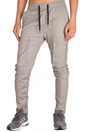 Mens Chino Cargo Pants Casual Trousers